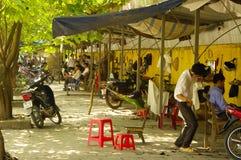 Rua dos cabeleireiro Foto de Stock