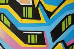 Rua 2 dos grafittis Imagem de Stock