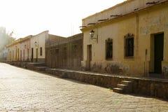 Rua e casa em Cachi Imagens de Stock