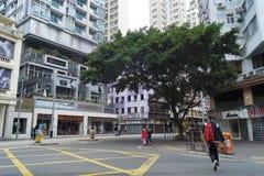 A rua e livra Imagem de Stock