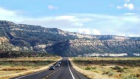 Rua e montanha Foto de Stock Royalty Free