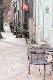 Rua em Alexandria, Virgínia Foto de Stock Royalty Free