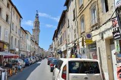 Rua em Avignon Imagens de Stock