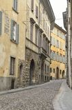 Rua em Bergamo Fotos de Stock Royalty Free
