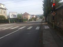 A rua em Besançon fotografia de stock royalty free