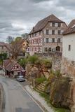 Rua em Cadolsburg, Alemanha Fotografia de Stock