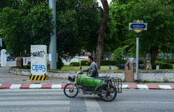 Rua em Chiang Mai, Tailândia Fotos de Stock