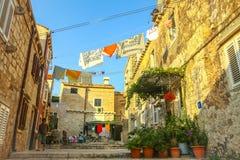 Rua em Dubrovnik Imagens de Stock Royalty Free