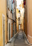 Rua em en velho Provnece do Aix Fotografia de Stock Royalty Free