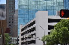 Rua em Fort Worth, Texas fotografia de stock