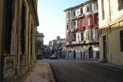 Rua em Havana Fotos de Stock Royalty Free