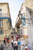 Rua em Havana Cuba imagens de stock royalty free