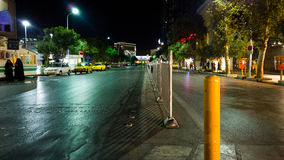 Rua em Irã imagens de stock