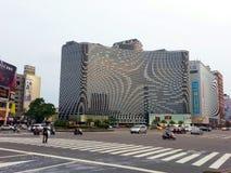Rua em Kaohsiung Taiwan Imagens de Stock