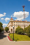 Rua em Minsk, Bielorrússia Fotografia de Stock