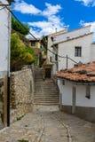 Rua em Morella, Espanha Fotos de Stock