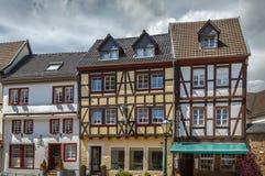 Rua em Munstereifel mau, Alemanha Fotografia de Stock Royalty Free