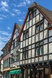Rua em Munstereifel mau, Alemanha Fotos de Stock