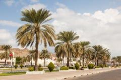 Rua em Muttrah, Omã imagens de stock