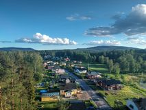 A rua em Nasviken fotos de stock royalty free