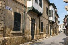 Rua em Nicosia, Chipre norte Imagem de Stock Royalty Free