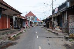 Rua em Nusa Penida imagem de stock