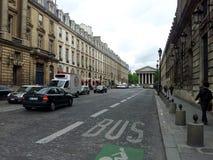 Rua em Paris Fotos de Stock