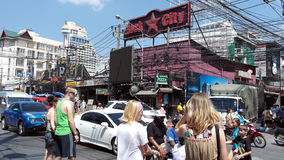 Rua em Patong Fotos de Stock