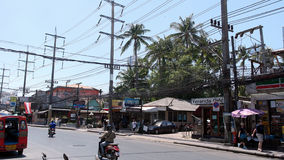 Rua em Patong Phuket Fotos de Stock Royalty Free