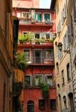 Rua em Roma Foto de Stock