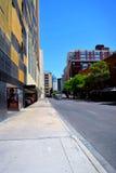 Rua em San Antonio do centro, texas Foto de Stock