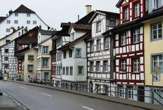 Rua em St Gallen foto de stock royalty free
