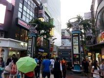 Rua em Taipei Foto de Stock Royalty Free
