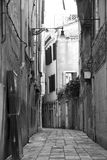 Rua em Veneza Imagem de Stock
