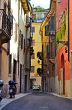 Rua em Verona Foto de Stock Royalty Free