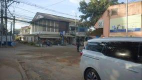 Rua em Vientiane, Laos filme