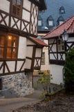Rua em Wernigerode, Alemanha Foto de Stock