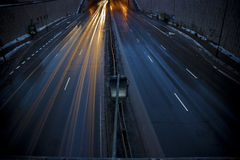 Rua escura Foto de Stock Royalty Free