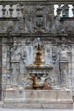 Rua Escura Fountain in Porto Stock Photography
