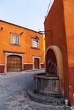 Rua espanhola colonial Imagem de Stock Royalty Free