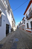 Rua estreita Ronda Spain foto de stock royalty free
