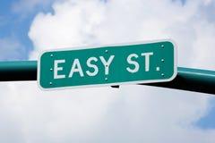 Rua fácil Fotografia de Stock Royalty Free
