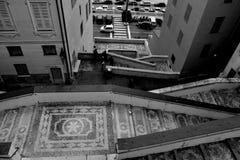 Rua França de Mentone Foto de Stock Royalty Free
