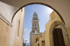Rua grega Fotos de Stock Royalty Free