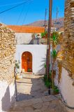 Rua grega Foto de Stock Royalty Free
