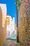 Rua grega Imagem de Stock