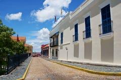Rua histórica Fotografia de Stock Royalty Free