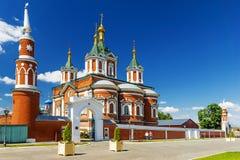 Rua histórica de Kolomna, Rússia fotografia de stock royalty free