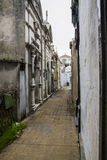 Rua interna de Recoleta Foto de Stock Royalty Free