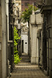 Rua interna de Recoleta Fotografia de Stock Royalty Free